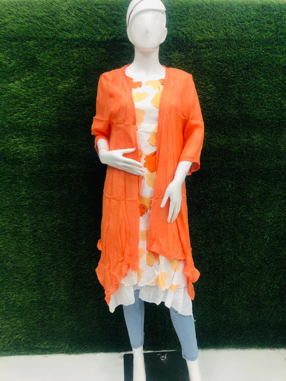 Women's Dress with Shrag