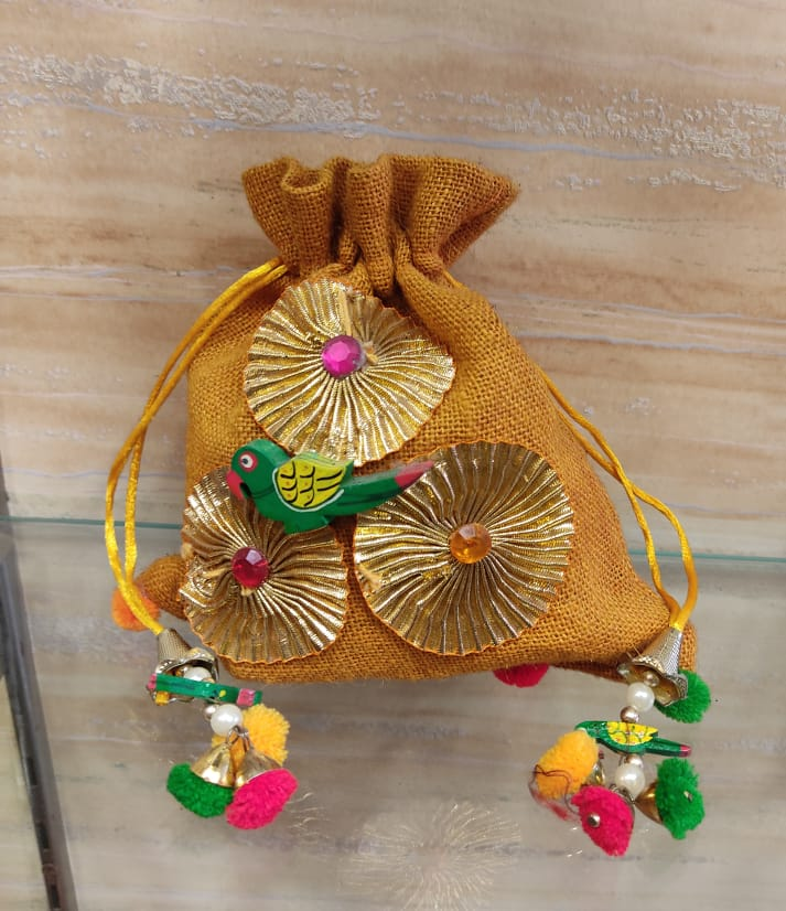 Women rajawadi clutch bag