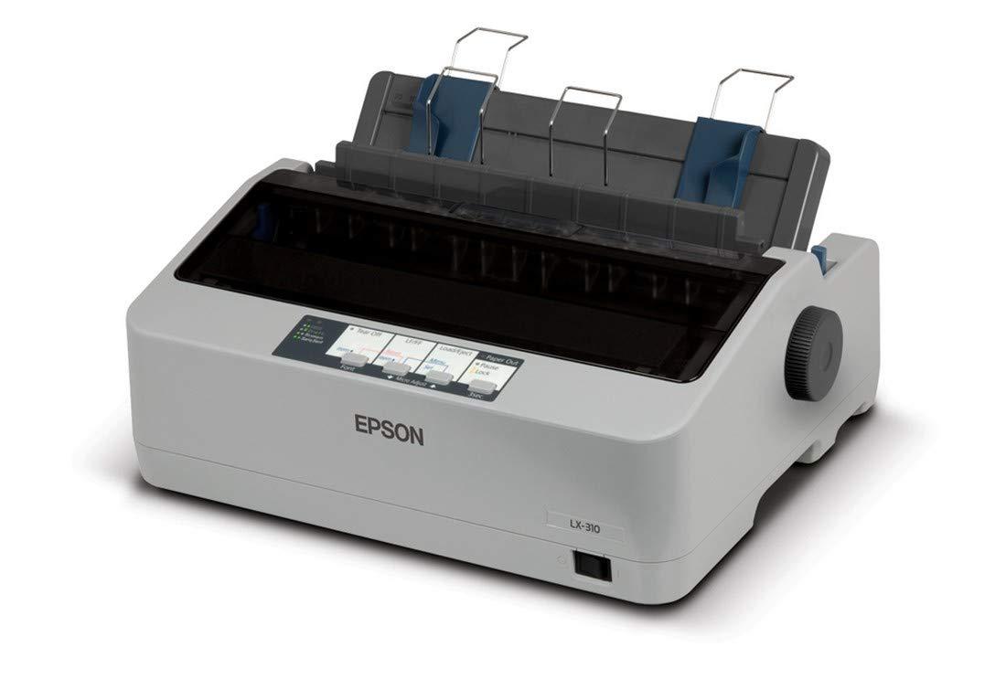 Epson LX-310 Single Function Monochrome Printer  (White, Black)