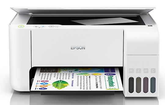 Epson EcoTank L3116 Multifunction InkTank Printer Multi-function Color Printer  (Black, Refillable Ink Tank)