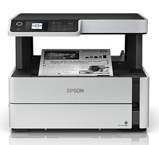 Epson EcoTank Monochrome M2170 All-in-One Wi-Fi Duplex Multi-function WiFi Monochrome Printer  (Multicolor, Refillable Ink Tank)