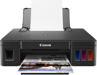 Canon PIXMA G1010 Single Function Color Printer  (Black, Ink Bottle)