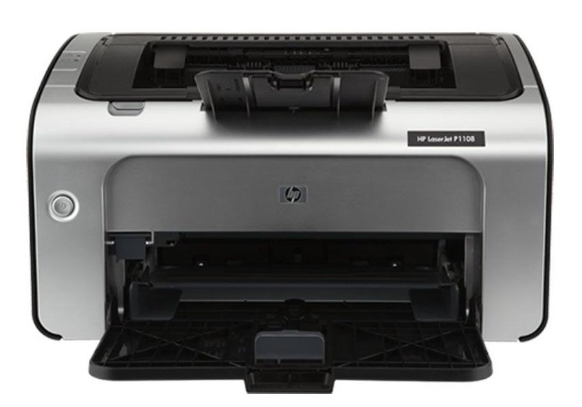 HP LaserJet Pro P1108 Single Function Monochrome Printer  (Black, White, Toner Cartridge)