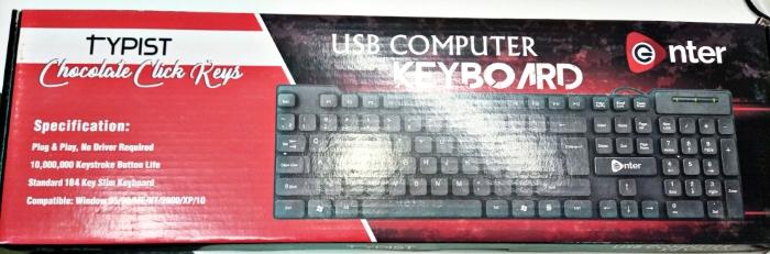 Keyboard typist