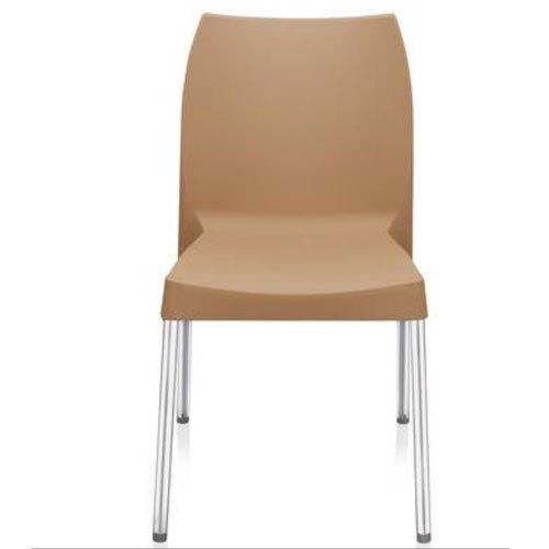 Nilkamal Novella 07 Plastic Outdoor Chair  (Cream)
