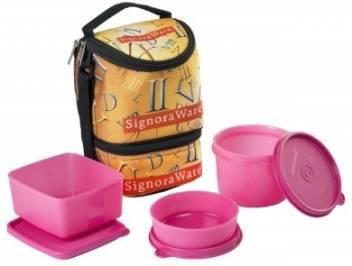 Signoraware Roman Trio (1130ml) 3 Containers Lunch Box  (1130 ml)