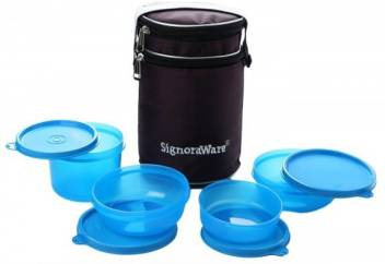 Signoraware Perfect (1230ml) 4 Containers Lunch Box  (1230 ml)