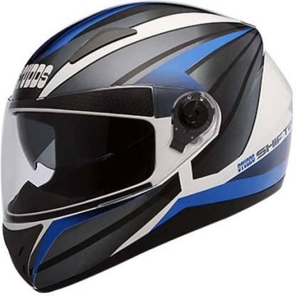 Studds Shifter D2 Decor D2 White N1 Bike Helmet