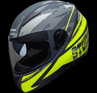 Studds Shifter D3 Decor D3 Matt GREY N5 Bike Helmet
