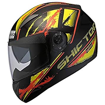 Studds Shifter D5 Decor D5 Black N5 Bike Helmet