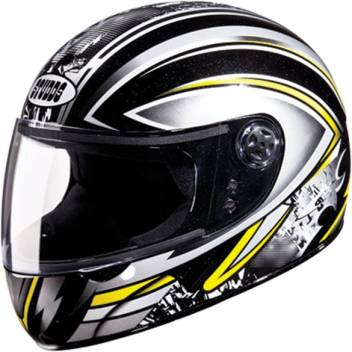 Studds Chrome D1 Decore D1 Black N4 Bike Helmet