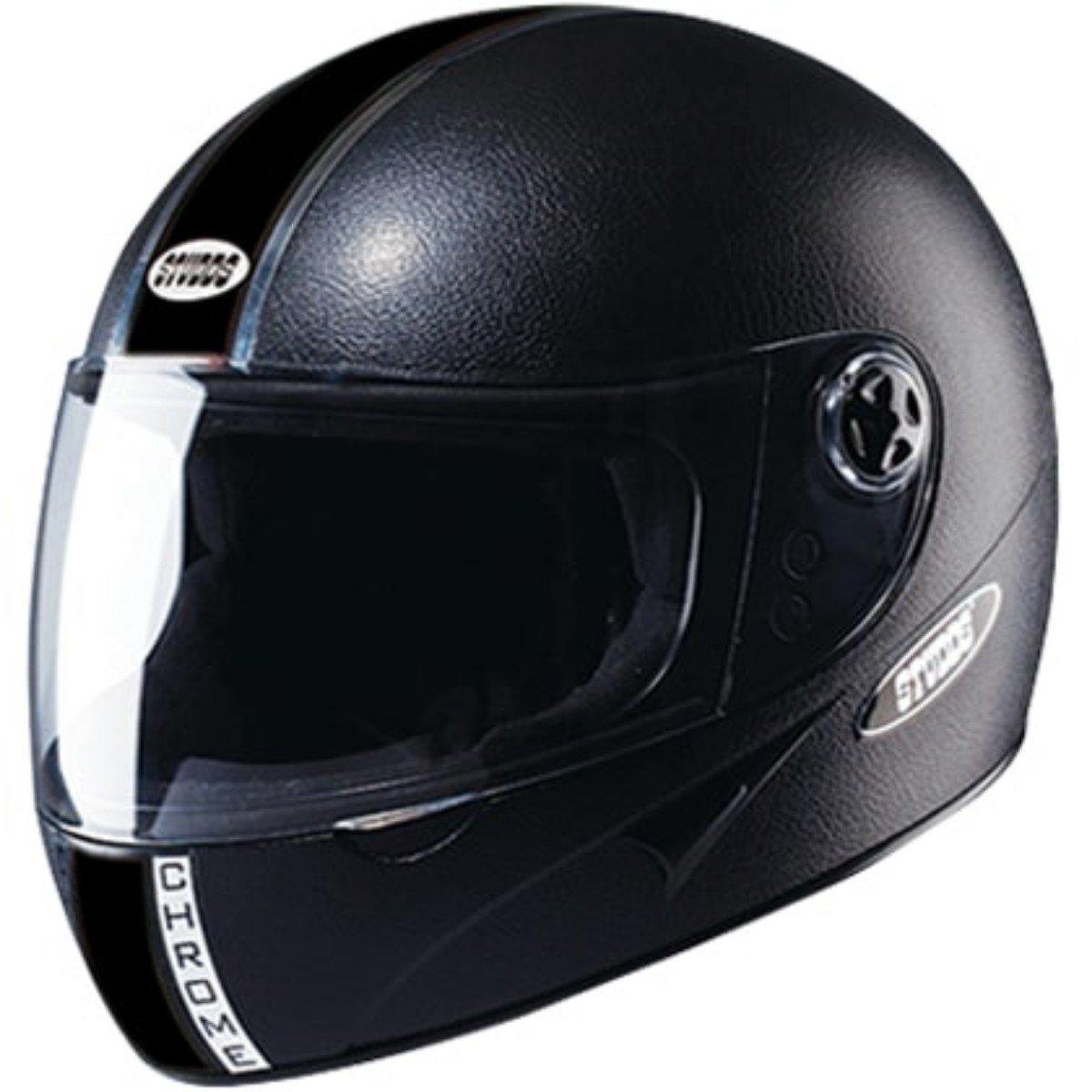 Studds Chrome Eco With Mirror Visor Bike Helmet