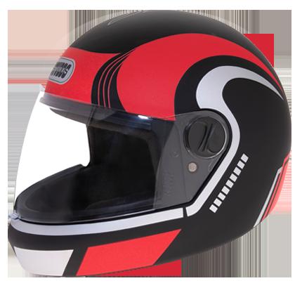 Studds Jade D3 Decor D3 Matt Black N2 Bike Helmet