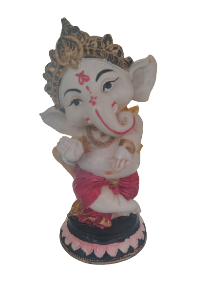 Handcrafted Lord Ganesha Idols for home decor Showpiece (Multicolor)