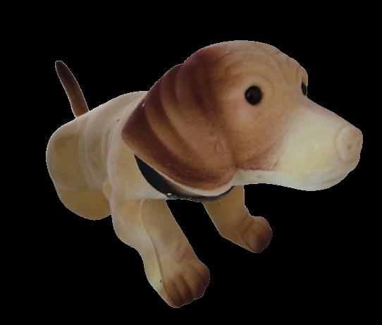 Dog Showpiece Statue for Decoration (Beige)