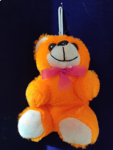 Small Teddy Bear Soft Toys For Kids Girls (Orange)