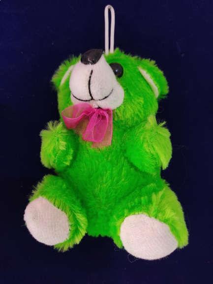 Small Teddy Bear Soft Toys For Kids Girls (Green)
