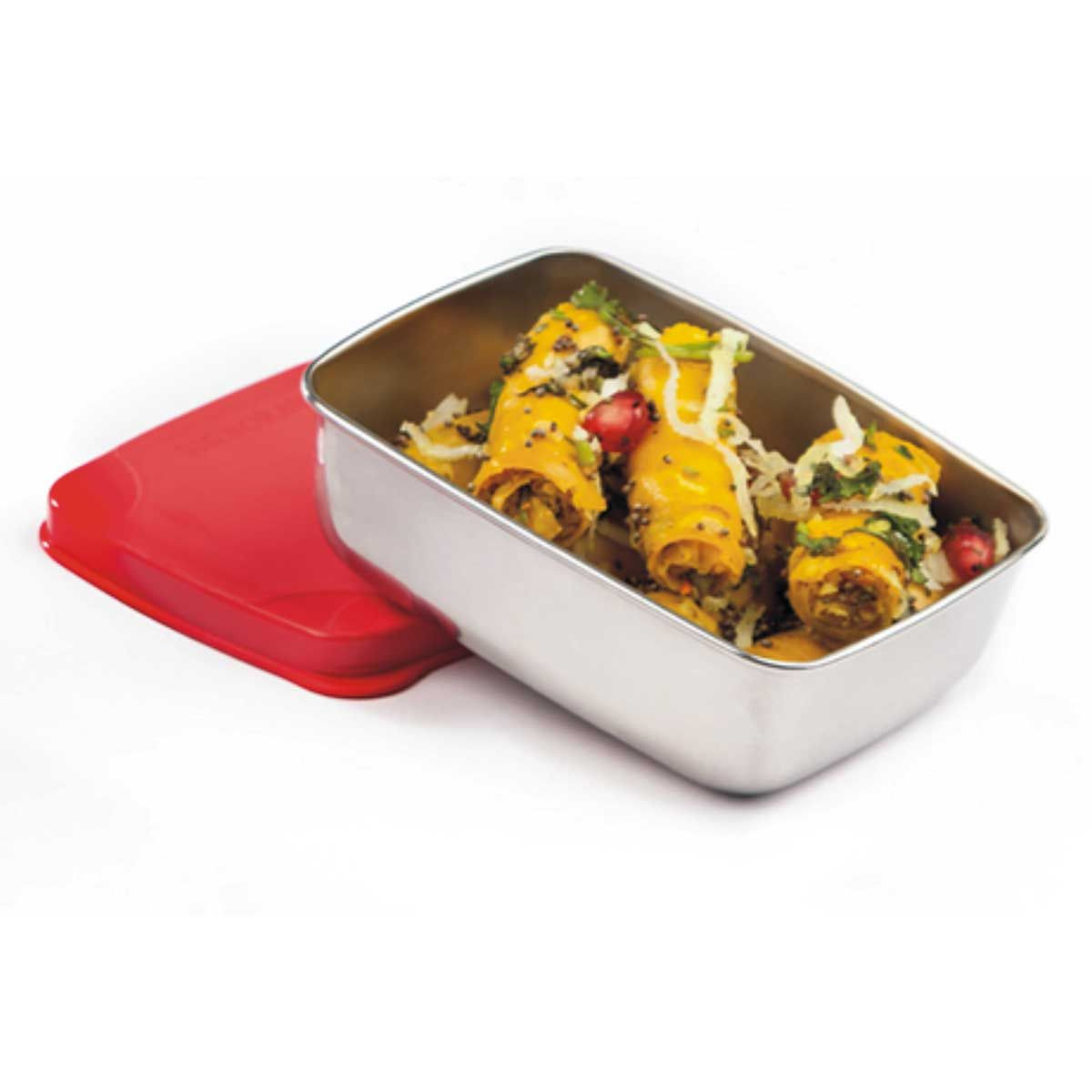 Signoraware Handy Steel Container Lunch box (150 ml)