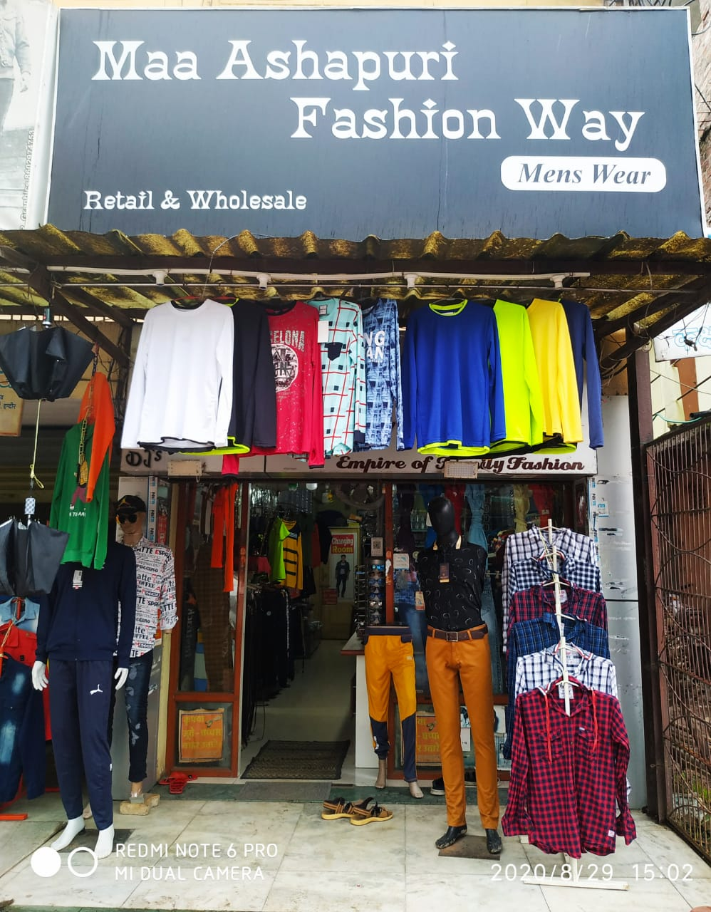 Maa ashapurni fashion way