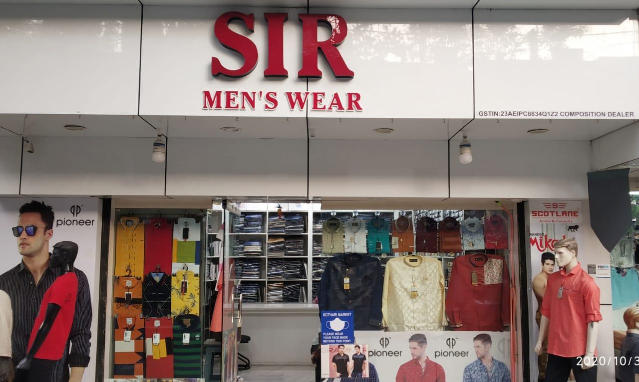 SIR MEN'S WEAR