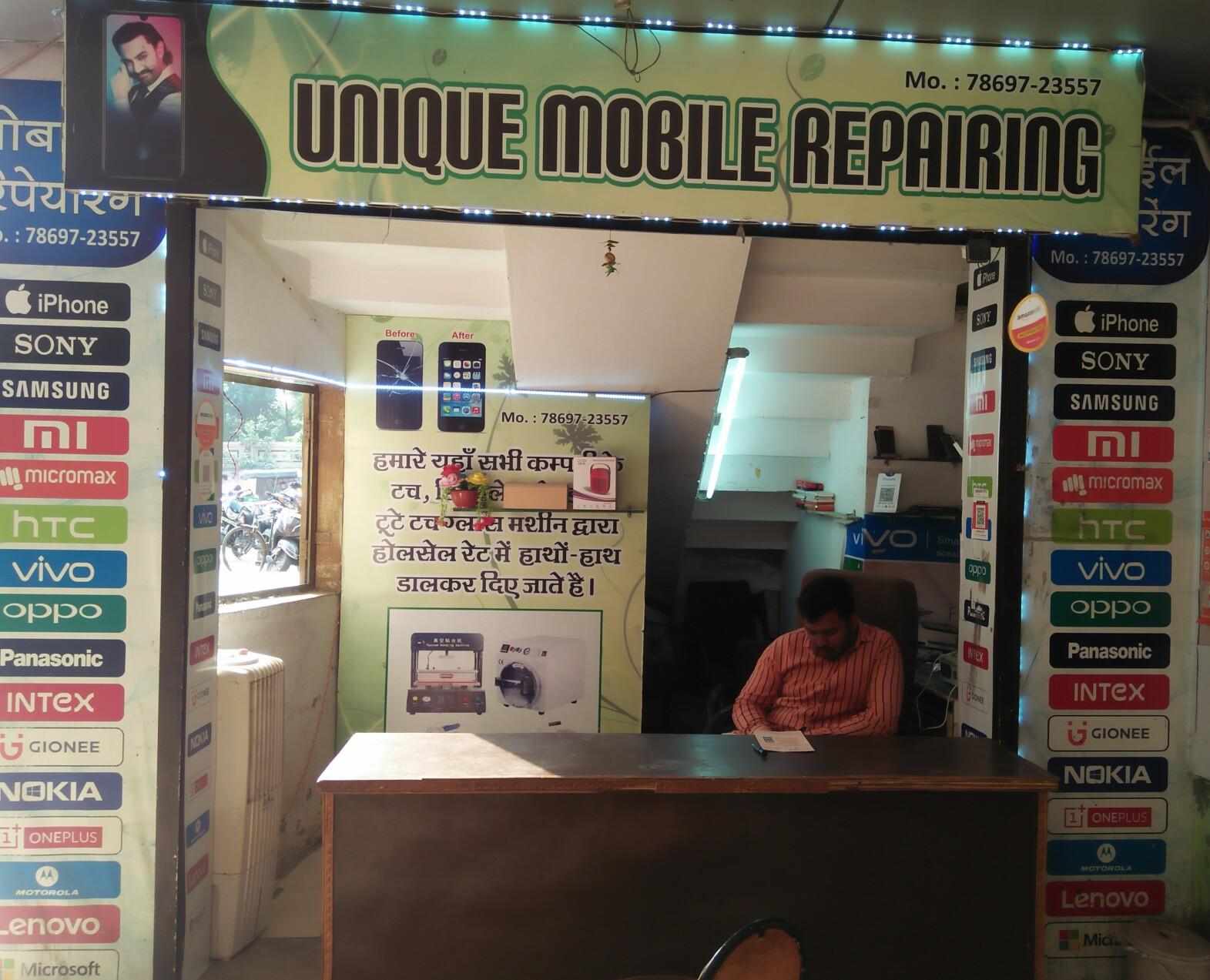 Unique mobile repairing