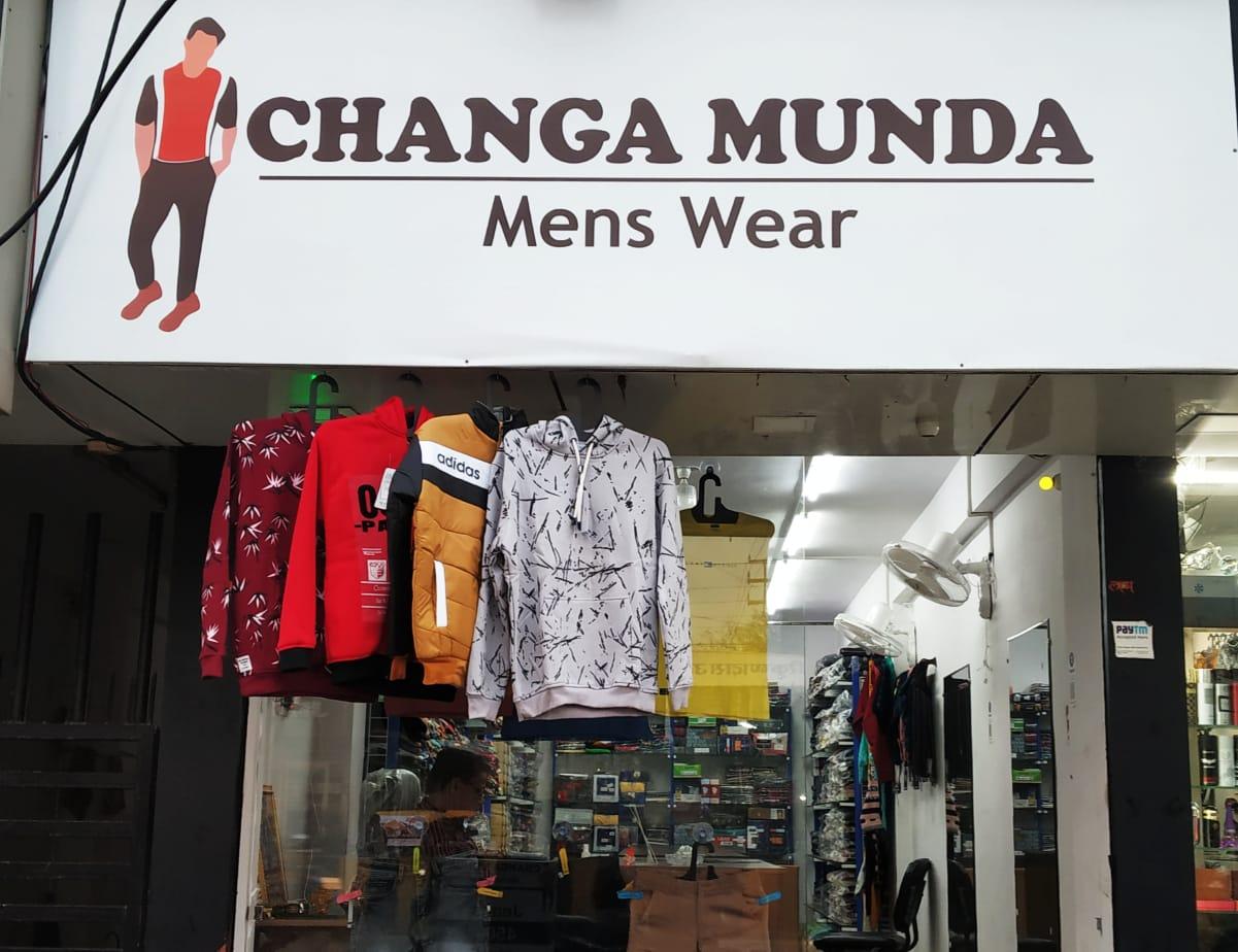 CHANGA MUNDA MEN'S WEAR