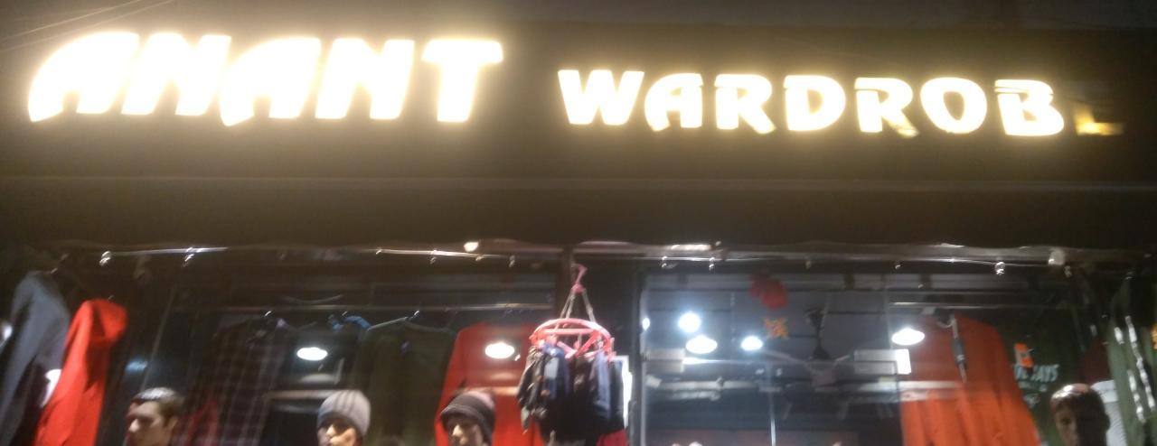 Anant wardrobe
