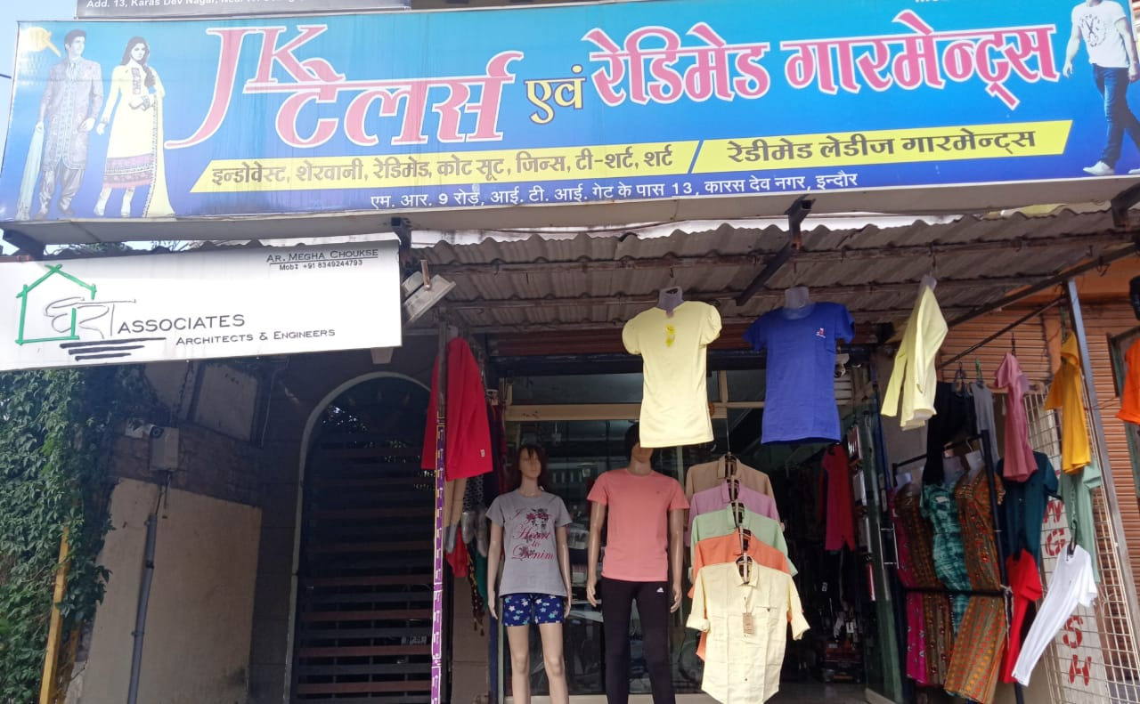 JK TAILORS AND READYMADE GARMENTS