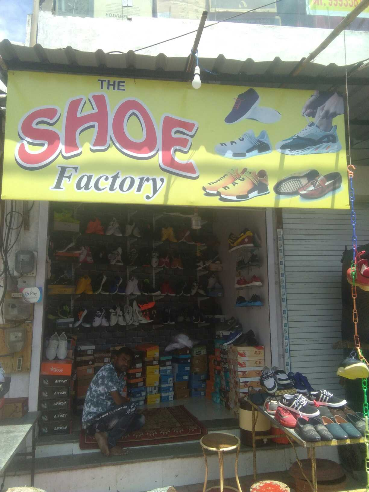 The shoes factary