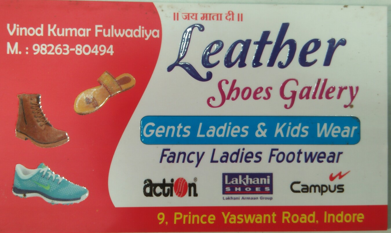 Leather shoes gallery