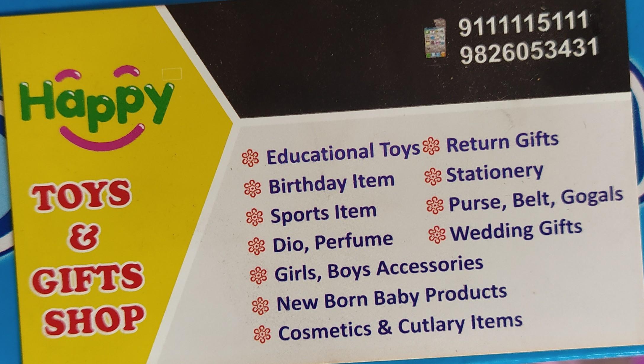 Happy toys & stationery