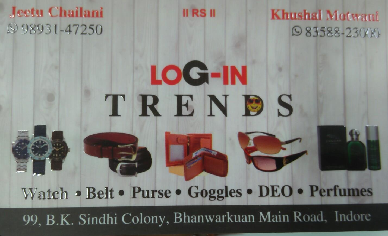 LOg IN trends