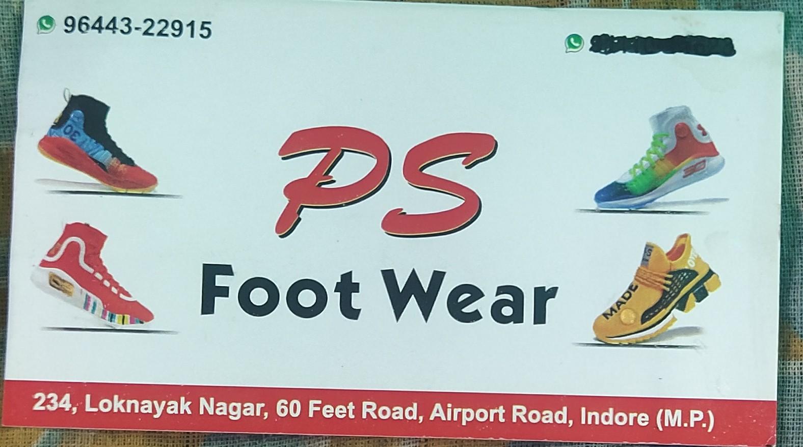 PS foot wear
