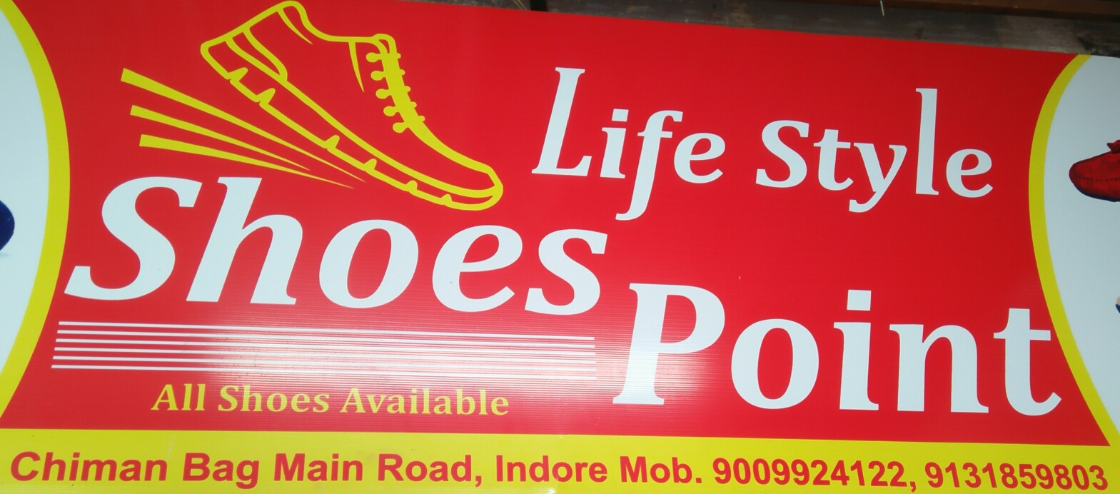 Life style shoes point