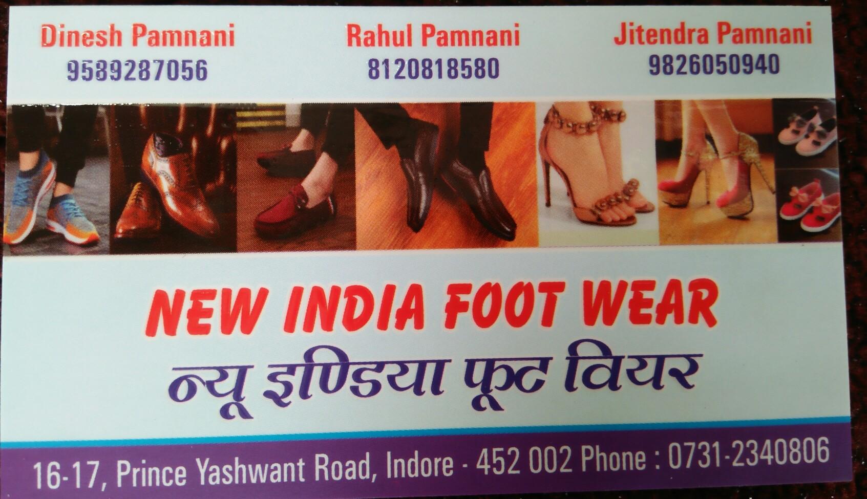New India footwear