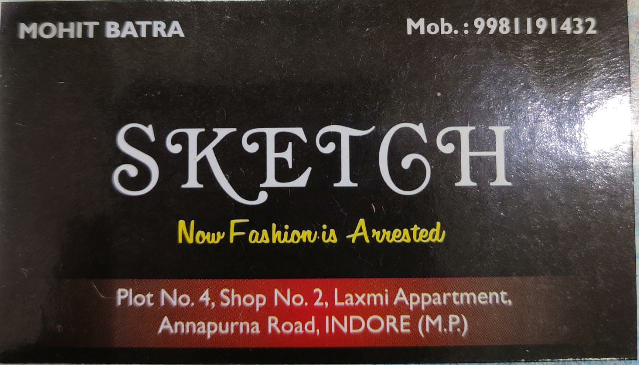 Sketch new fashion is arrested