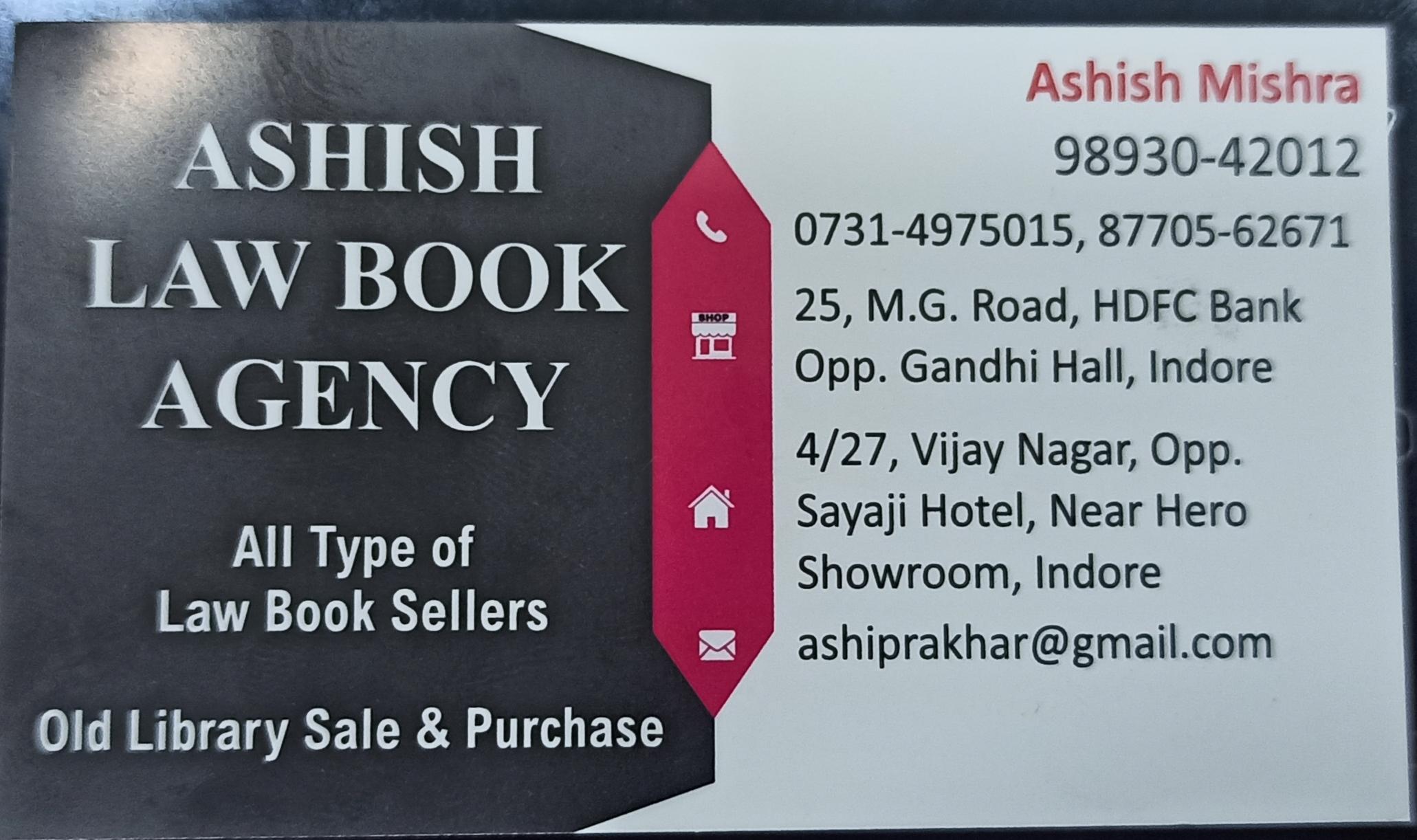 Ashish law book agency