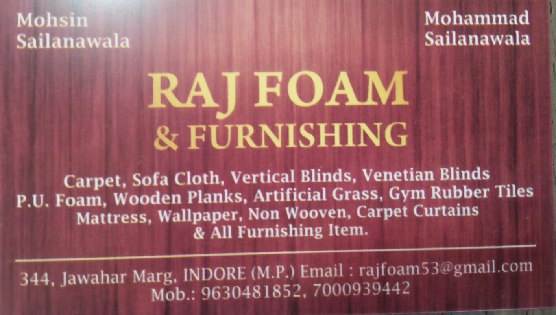 Raj  foam & furnishing