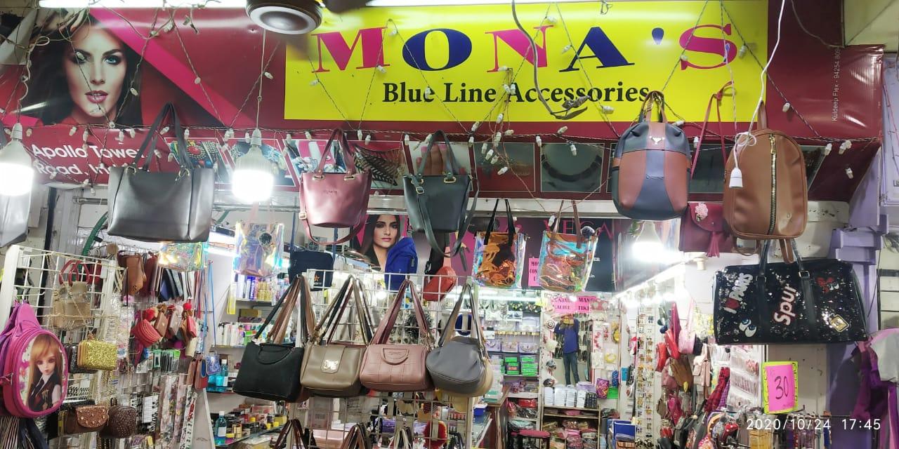 MONA'S BLUE LINE ACCESSORIES