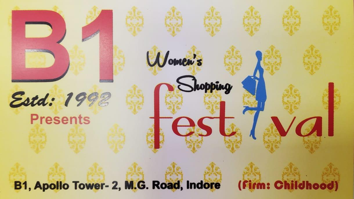 B1 WOMEN'S SHOPPING FESTIVAL