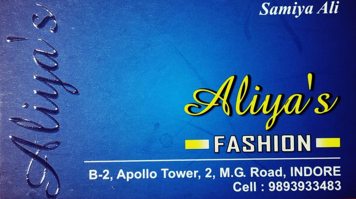 ALIYA'S FASHION