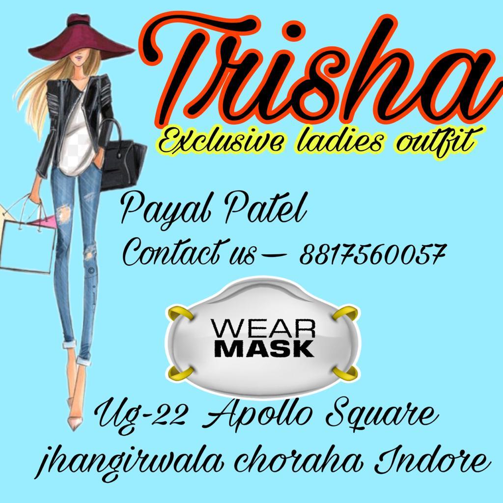 TRISHA EXCLUSIVE LADIES OUTFIT