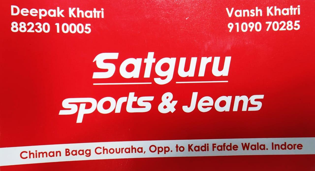 SATGURU SPORTS AND JEANS