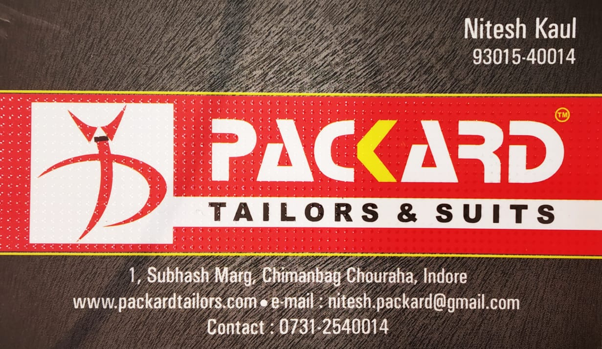 PACKARD TAILORS AND SUITS