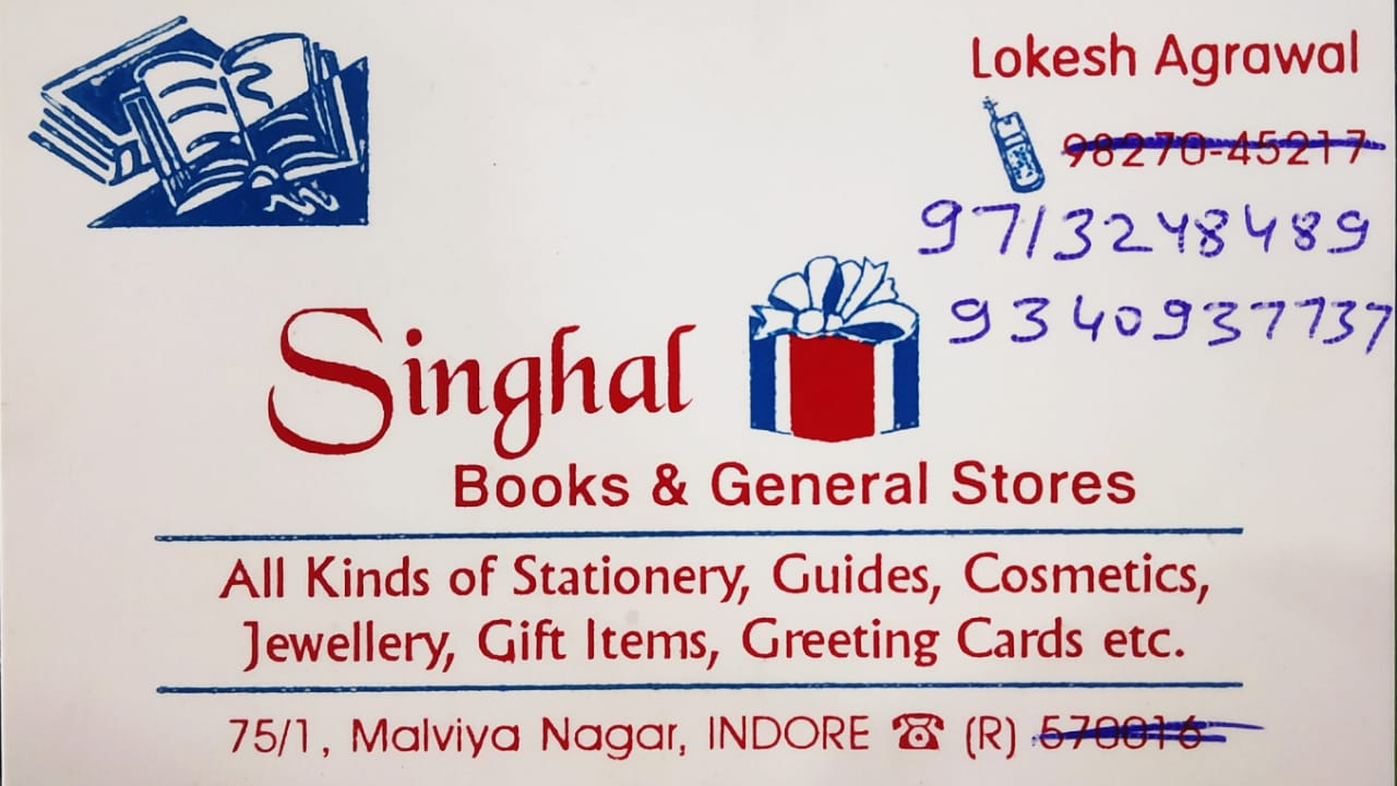 SINGHAL STATIONERY AND GENERAL STORES