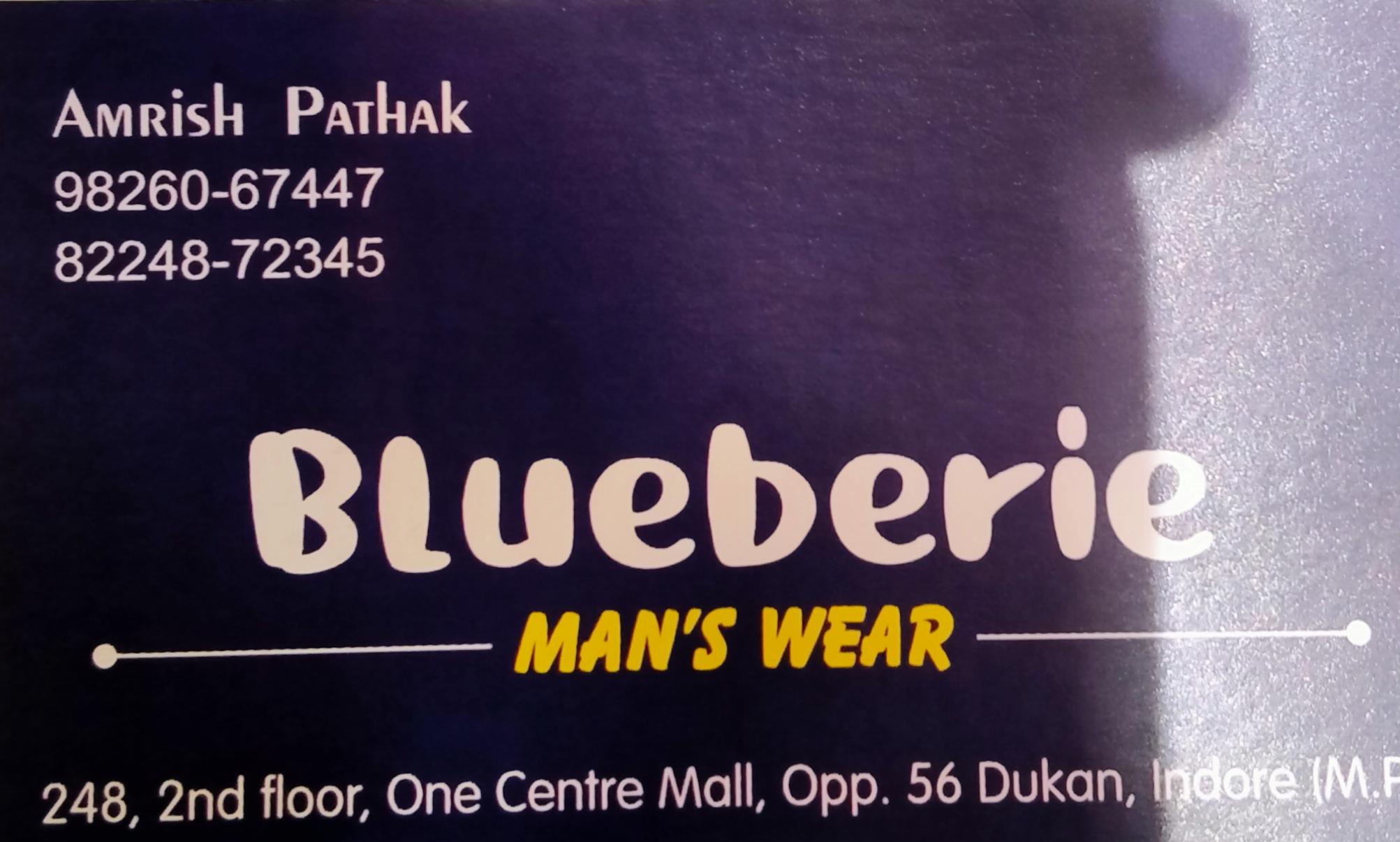 Blueberie faishion