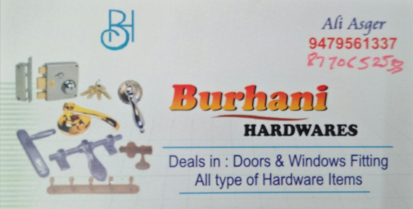 Burhani hardwares