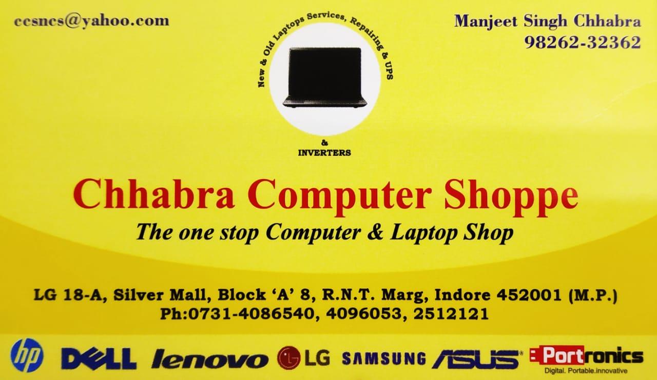 CHHABRA COMPUTER SHOPPE