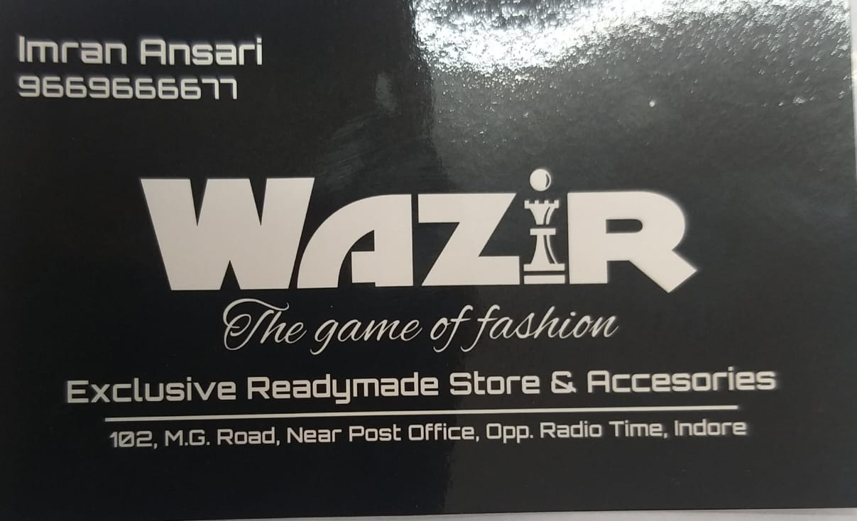 Wazir the game of fashion