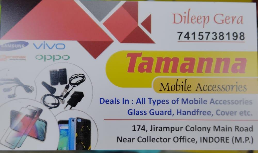Tamanna mobile accessories